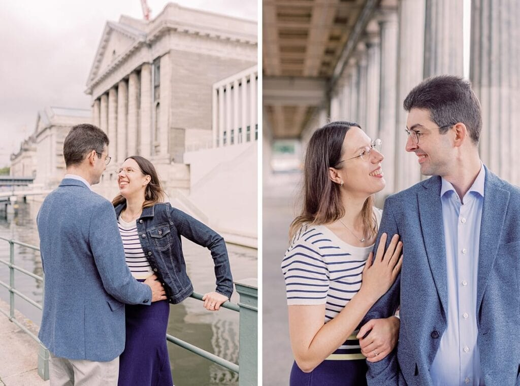 Paar auf der Museumsinsel Berlin