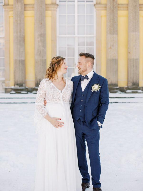 Hochzeit im Winter in Potsdam - Miriam Kaulbarsch Fotografie