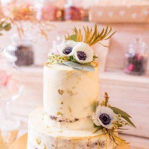 Süße Flora - Hochzeitstorte